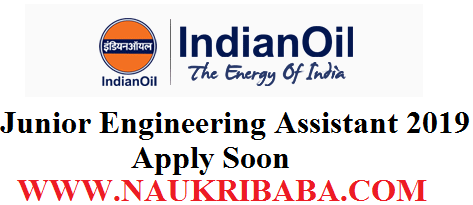 IOCL JUNIOR TECHNICAL ASSISTANT RECRUITMENT VACANCY 2019