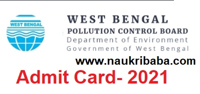 Admit-Card-2021 of CBT in WBPCB- Download from here