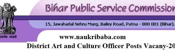 Apply for District Art and Culture Officer Vacancy in BPSC, Last Date-02/03/2021.