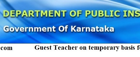 Apply for Guest Teacher Vacancy-2021, Last Date- 25/02/2021.