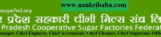 Apply for General Manager, Chief Engineer, Chief Accountant and many Vacancy in UP Sugar Mill, Last Date- 28/02/2021.