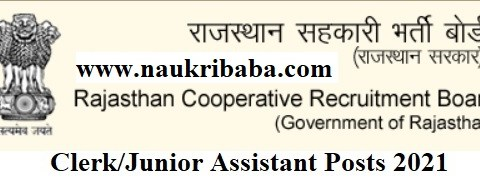 Apply - Clerk/Junior Assistant Vacancy in RSCB, Last Date-05/05/2021.