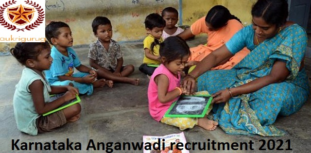 karnataka anganwadi recruitment 2021