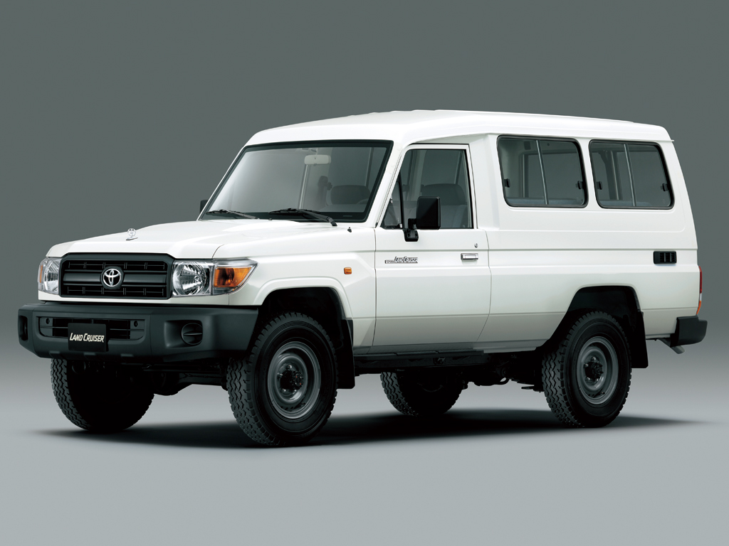 Toyota Land Cruiser 70 Series Hardtop 12 and 13 Seater