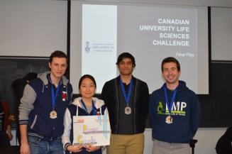 In second place, the Power Couple representing the University of Toronto