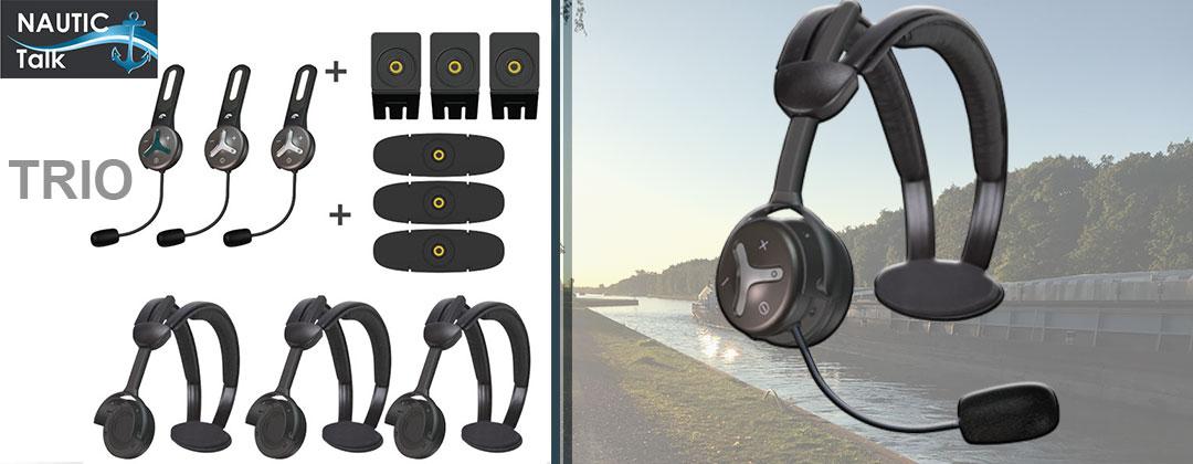 Nautic Talk SL Trio- Bluetooth Freisprechanlage für die Schiffe