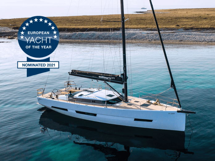 Elan GT6 nominated for European Yacht of the Year 2021