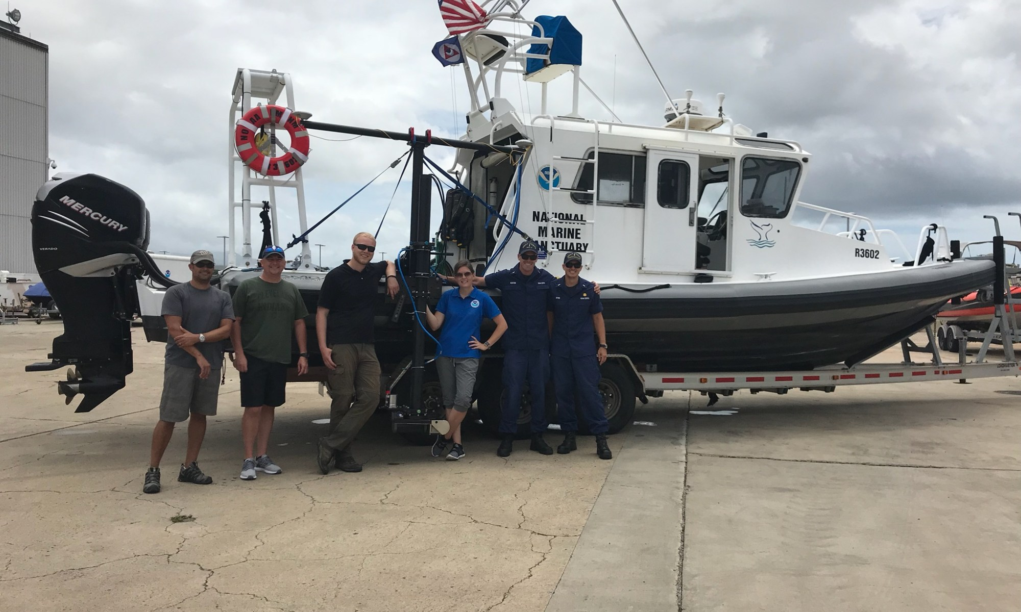 Coast Survey's hydrographic survey experts along with the Office of National Marine Sanctuary staff are ready to survey Honolulu Channel following Hurricane Lane.