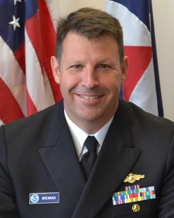 Captain Brennan portrait