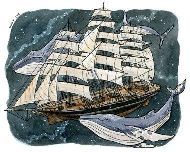 Spacewhales