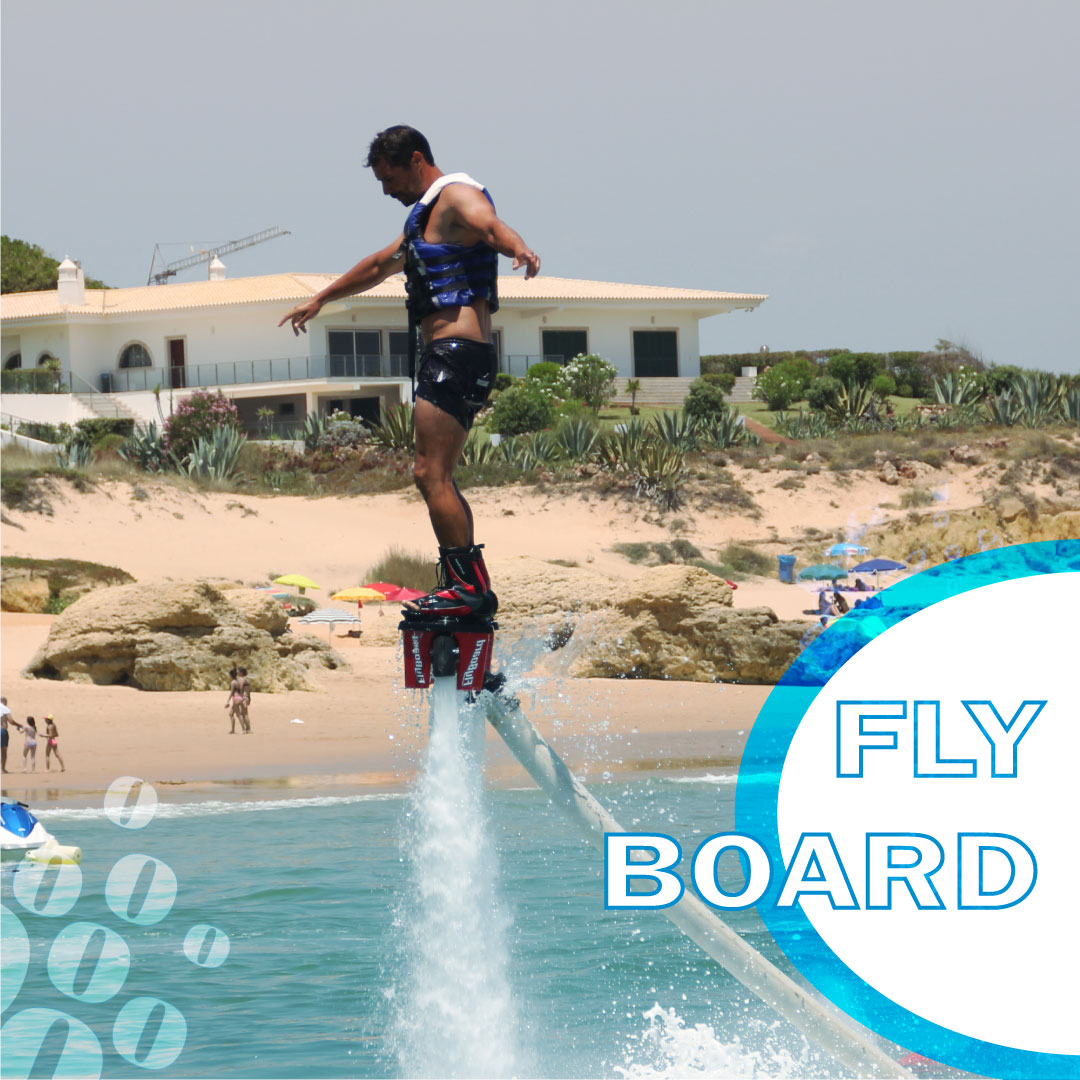 Já pensou em voar com a força da água? Então venha experimentar! Reseve já! Have you thought of flying due to the water? Come try it then! Book now! #nautifun #praiadagale #flyboard #albufeira #algarve #desportosnauticos #watersports #summer #sea