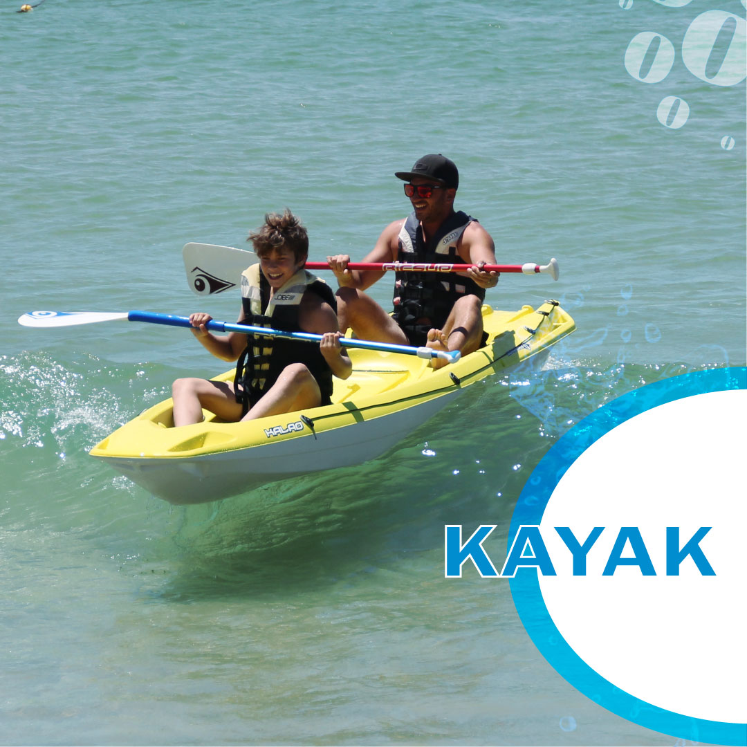 Desfrute do bom tempo e venha andar de kayak! Enjoy the weather come kayaking with us! #nautifun #praiadagale #kayak #albufeira #algarve #desportosnauticos #watersports #summer #sea