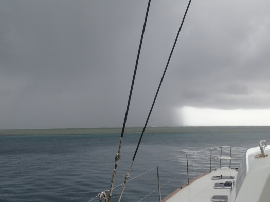 the start of a squall coming thru San Blas