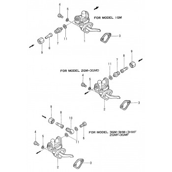 Joint pompe alimentation YANMAR marine GM / HM 121520-01851