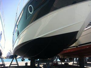 carénage de bateau antifouling chantier naval