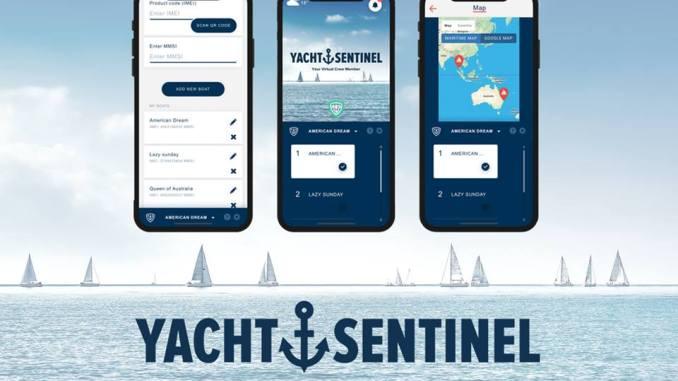 essai yacht sentinel boitier electronique surveillance bateau