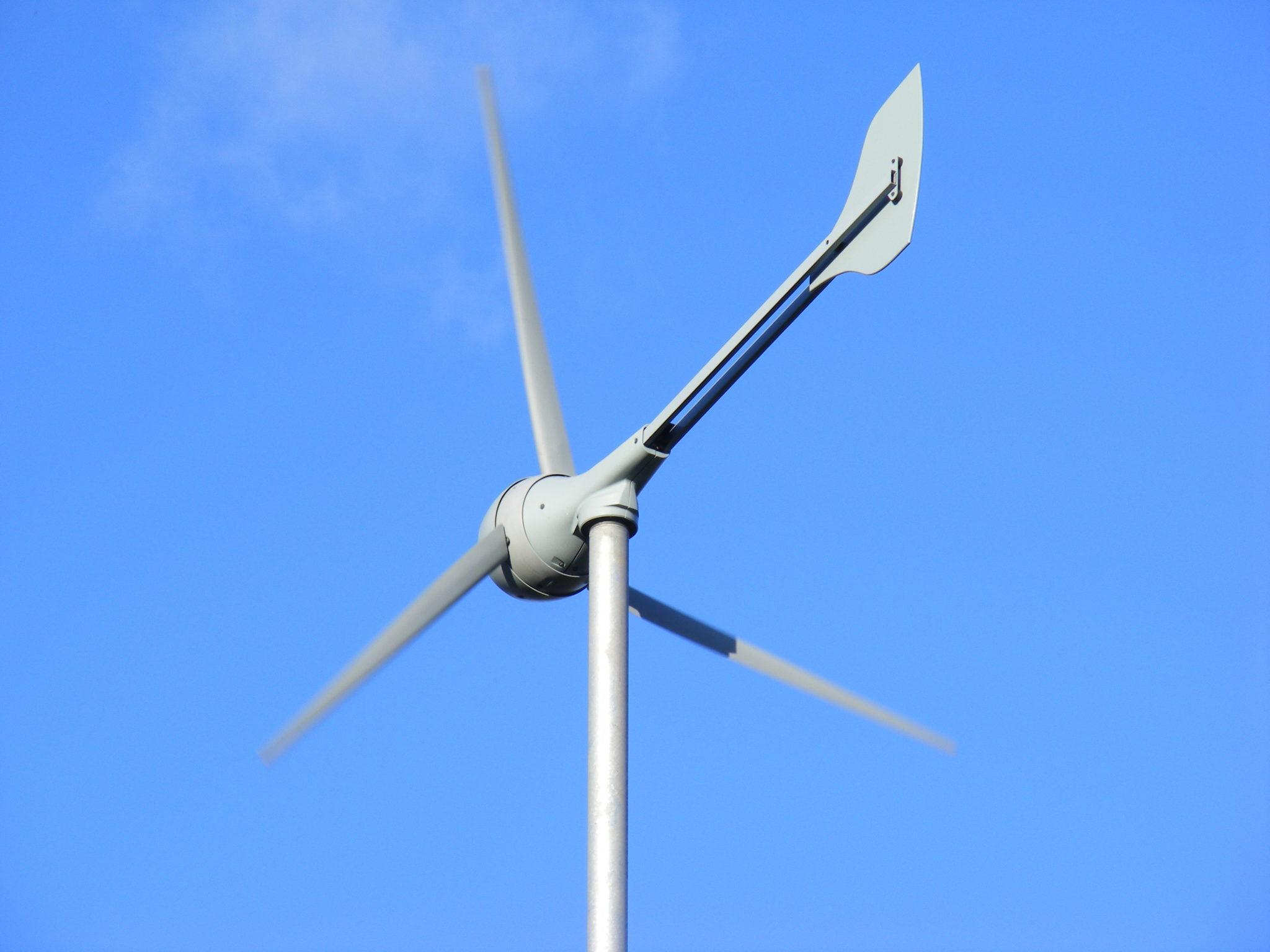 installer une éolienne horizontale