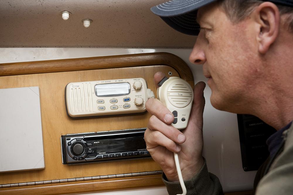 utiliser radio VHF
