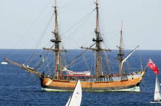 Identifican el sitio donde naufragó la nave del capitán James Cook