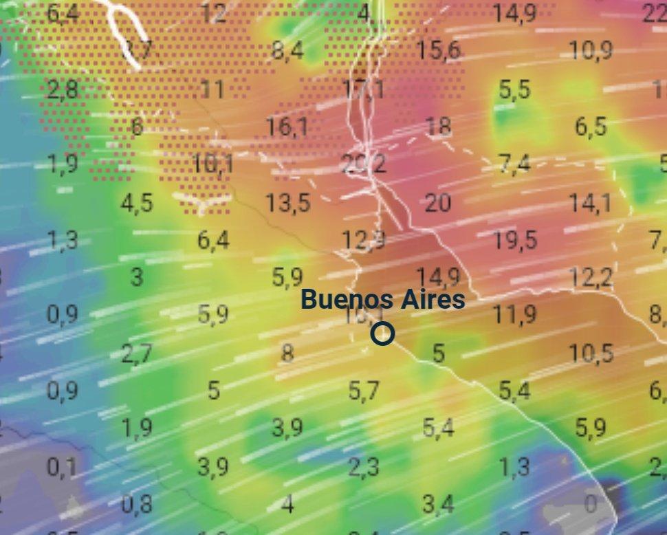 Radar Meteorologico Rio de la Plata