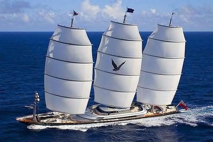 Maltese Falcon, el velero más caro del mundo.
