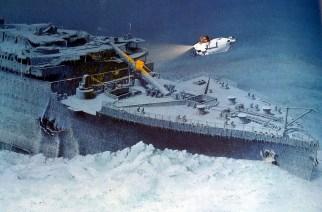 Robert Ballard y la búsqueda del Titanic.
