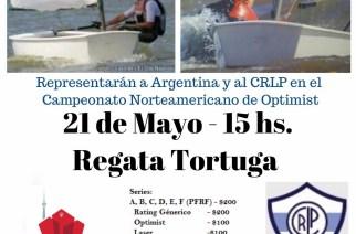 Regata Tortuga del CRLP en beneficio de Juani Giamonna y Franz Menzel, rumbo a Toronto 2017.