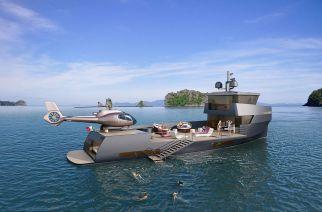 NAUCRATES 85  Concept Yacht PESCATORIAL EXPLORER