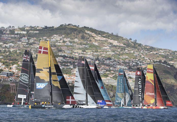SAP Team lidera la primera jornada de Extreme Sailing Series