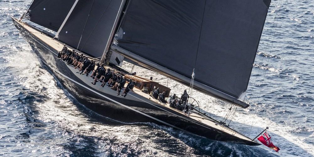 J Class SVEA en Bermuda