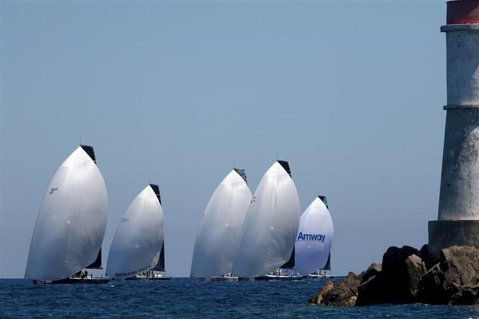 52 Super Series Porto Cervo, día 1. Regata costera para Sled.