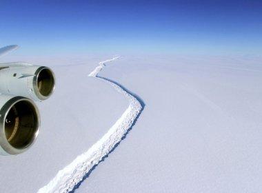 Se desprendió de la Antártida el iceberg más grande de la historia