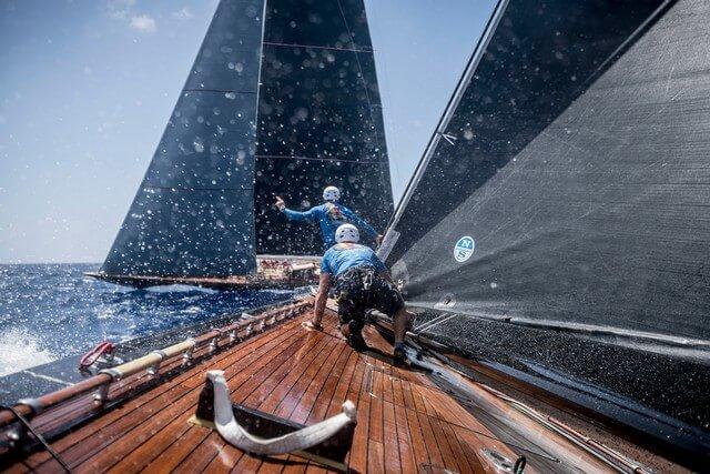 North Sails, súper velas para superyates