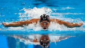 'Tiburón VS Phelps'.