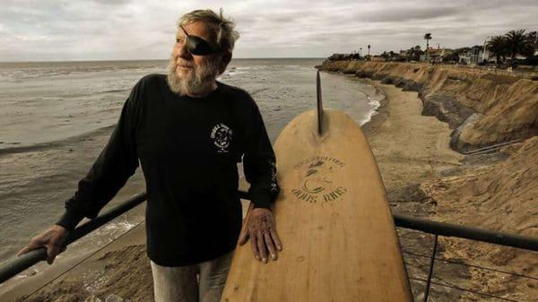 """El """"Pirata"""" que revolucionó la forma de practicar Surf"""
