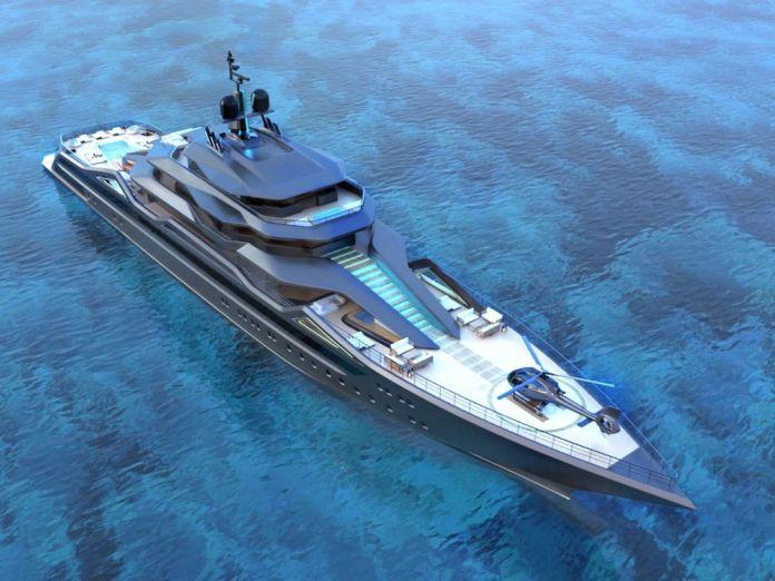 Mauna Kea, un Concept Superyacht 101 metros.