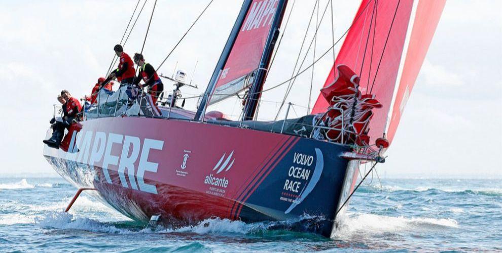 Volvo Ocean Race. MAPFRE sella su triunfo en la Etapa Cero