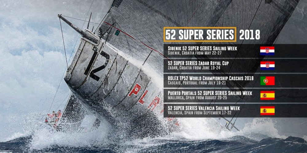 52 SUPER SERIES 2018 en Valencia
