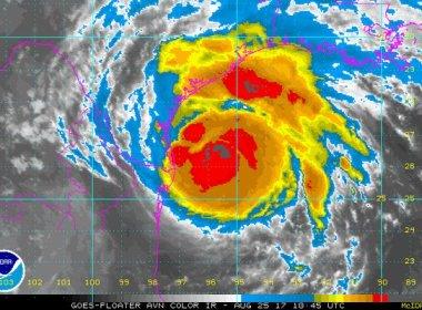 Huracán Harvey es categoría 3