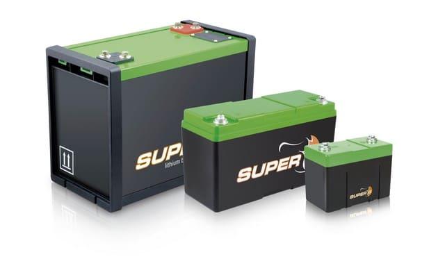 Baterías Super-B de litio