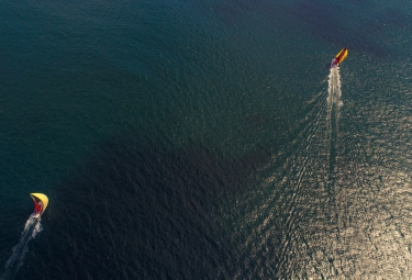 Volvo Ocean Race. MAPFRE y Dongfeng entrenan.