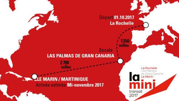 Las Palmas espera a la flota Mini Transat 2017