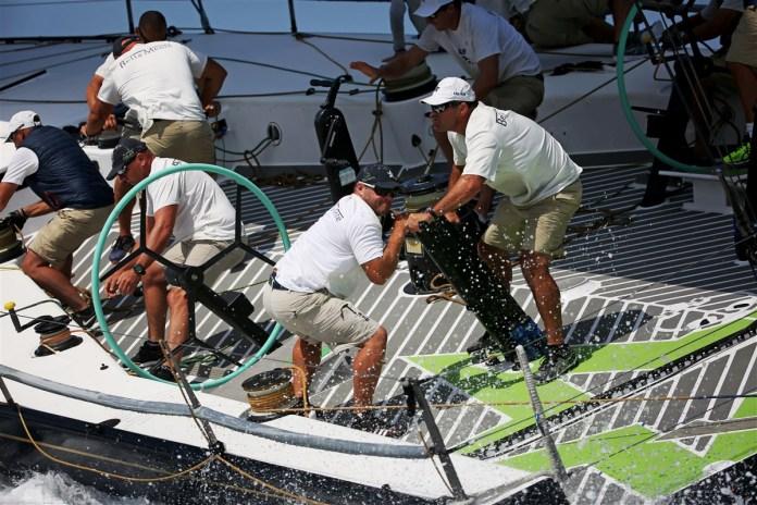 Maxi Yacht Rolex Cup día 5.