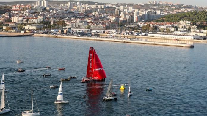 El MAPFRE rubrica el segundo puesto en la Etapa 1 de la Volvo Ocean Race