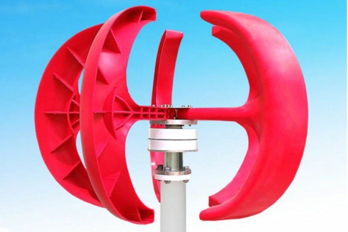 Turbina eólica de eje verticalATMB