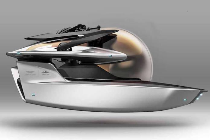 Aston Martin presenta su submarino Neptuno