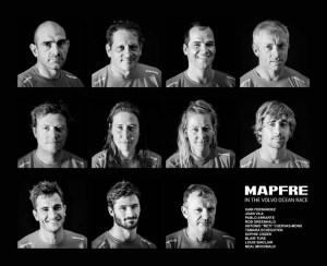Los tripulantes del MAPFRE según Joan Vila