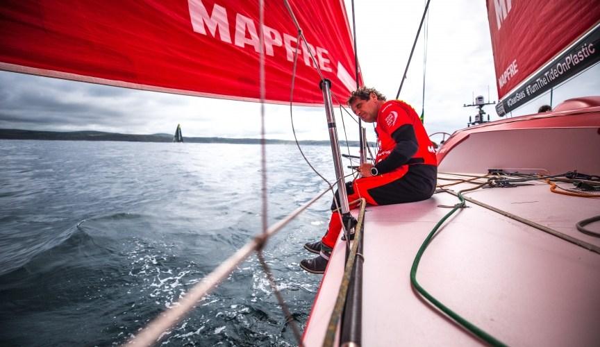 Volvo Ocean Race. Reflexiones del MAPFRE antes de la salida