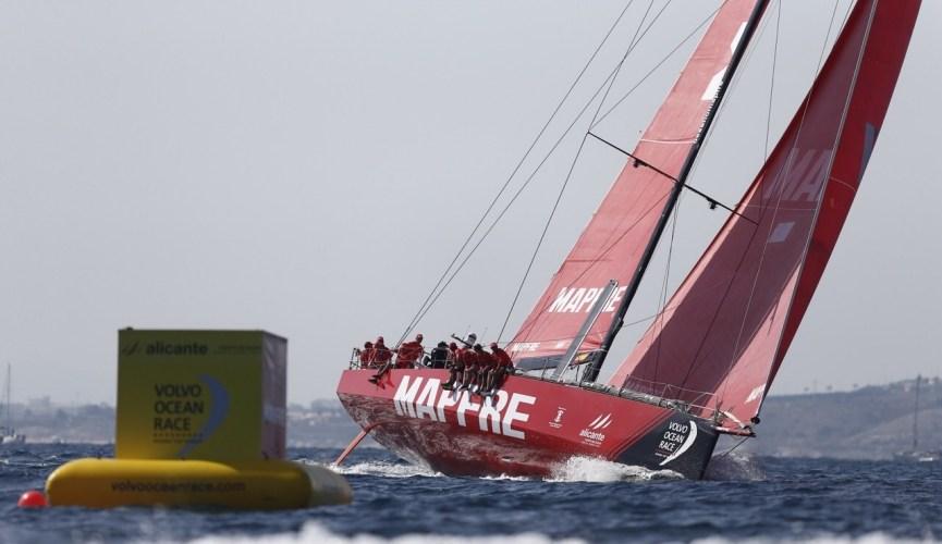 El MAPFRE arranca con una exhibición la Volvo Ocean Race
