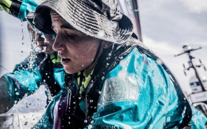 Volvo Ocean Race . Lucha por el podio rumbo a Lisboa